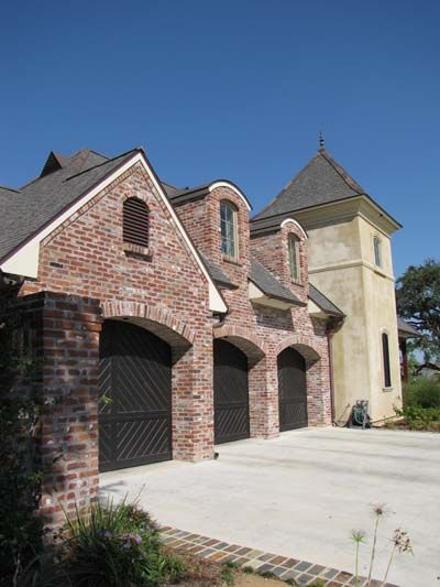 acadian brick stone old st louis photos garage doors acadian rh pinterest com