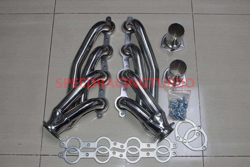 Chevy Ls Ls2 Ls3 Ls6 Ls7 Shorty Chevelle Camaro Stainless Steel Exhaust Headers Chevy Ls Chevy Trucks Chevy