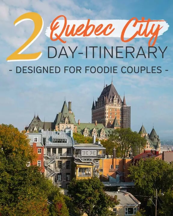 2 Days In Quebec City Honeymoon Itinerary For Foodie Couples Video Video Canada Travel Canada Travel Guide Quebec City