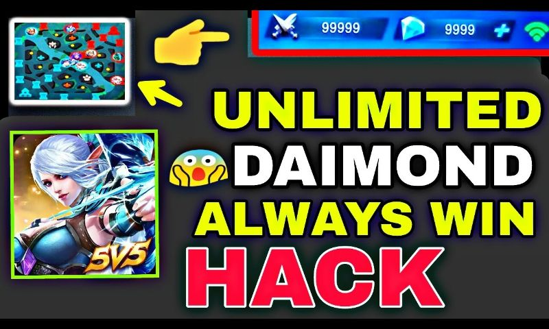 mobile legend hack version download script cheat skin