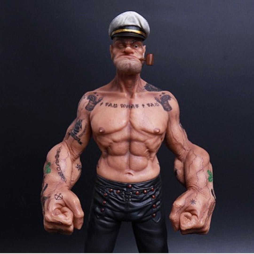 Strengthmaster Author At Vintage Strength Training: Popeye 💪 - Via @shredded.union #shreddedunion