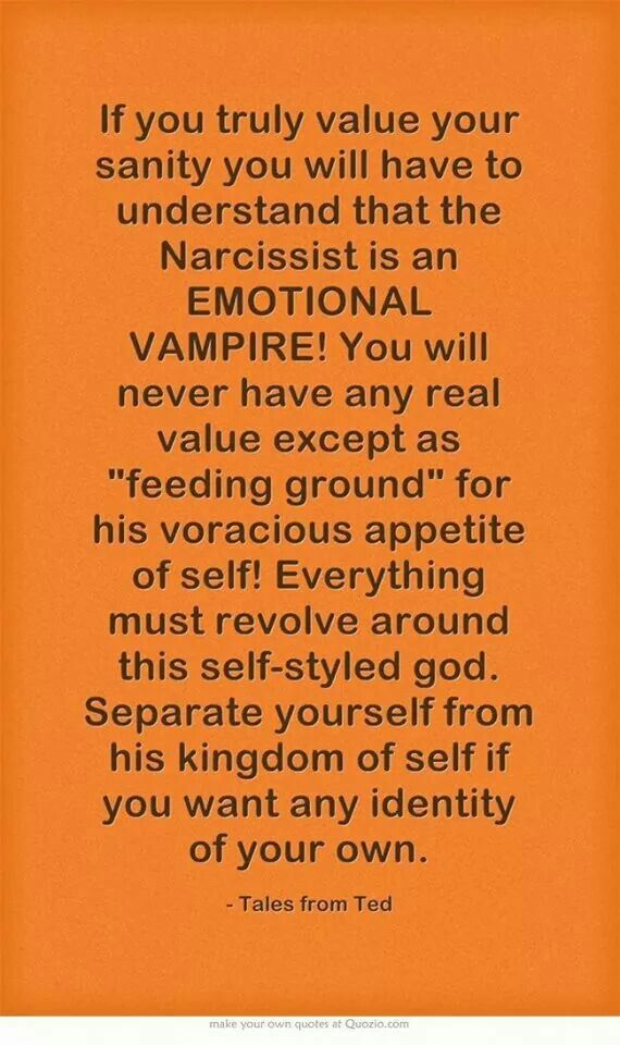 Image result for narcissist energy vampire