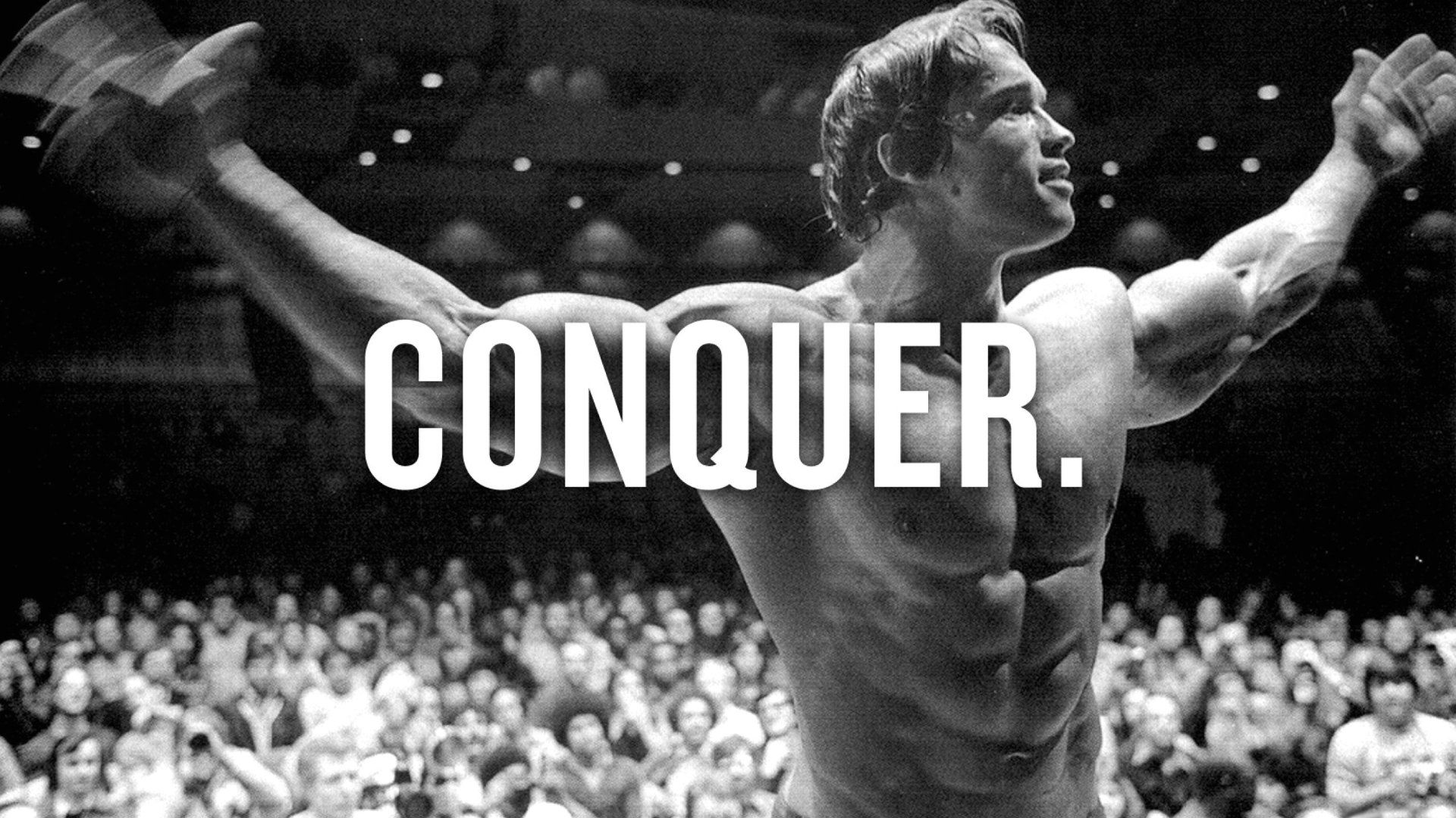Arnold Schwarzenegger Conquer 1920x1080 Need IPhone 6S Plus Wallpaper