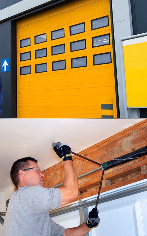 Garagedoor Spring Repair And Replacement Service With Images