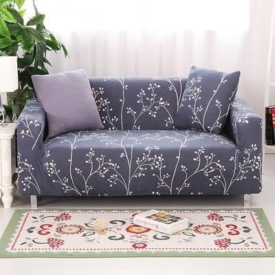 flower slipcover sofa cover tightly all inclusive wrap single double rh pinterest com