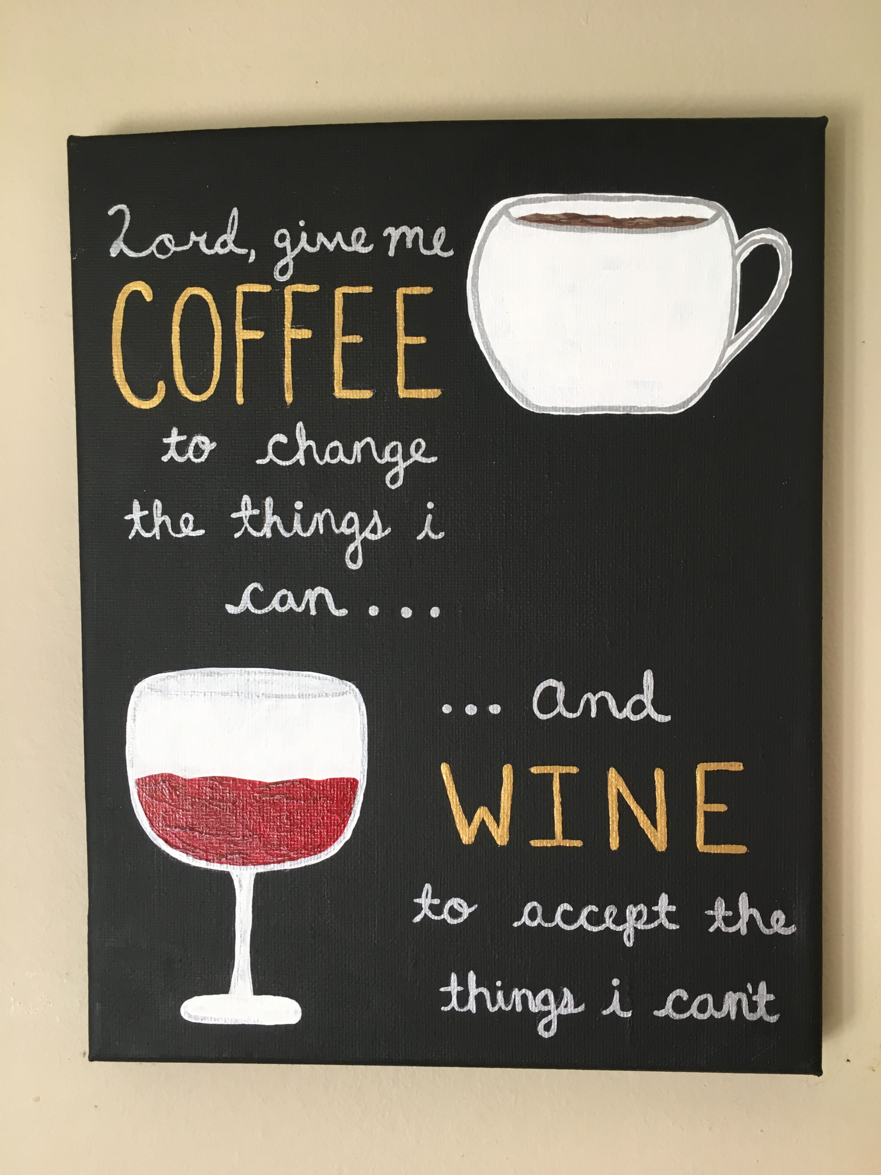 coffee and wine canvas painting art ideas in 2019 coffee rh pinterest com
