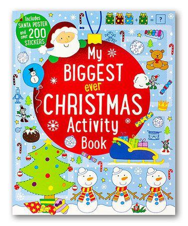 Look at this #zulilyfind! My Biggest Ever Christmas Activity Book #zulilyfinds