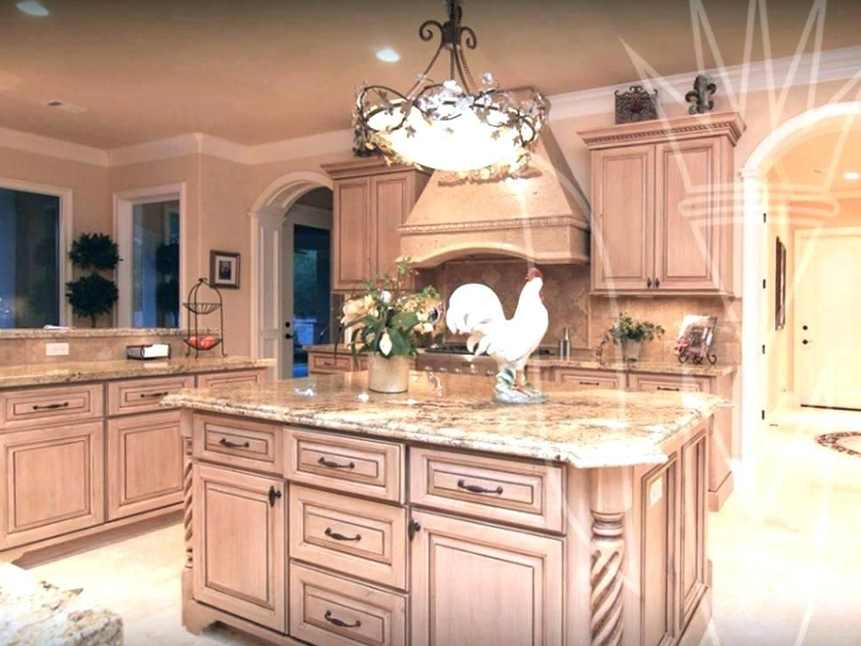 Pickled Oak Cabinets Glazed What Color Walls With H E L P ...