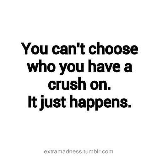 Can't choose who you have a crush on on We Heart It