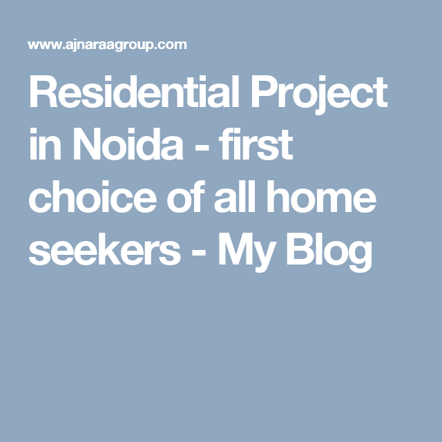 Residential Project In Noida