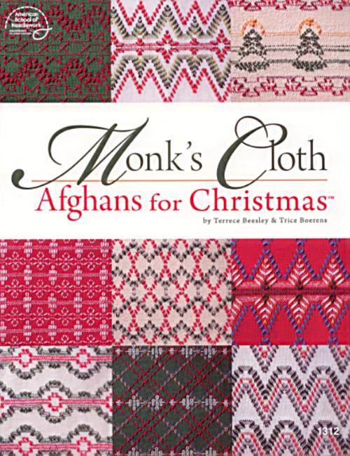Monk\'s Cloth Afghans for Christmas | Huck Weaving | Pinterest ...