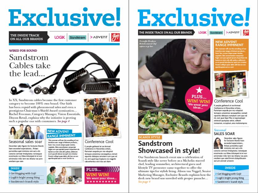 internal newsletter   Newsletter   Pinterest   Marketing materials ...