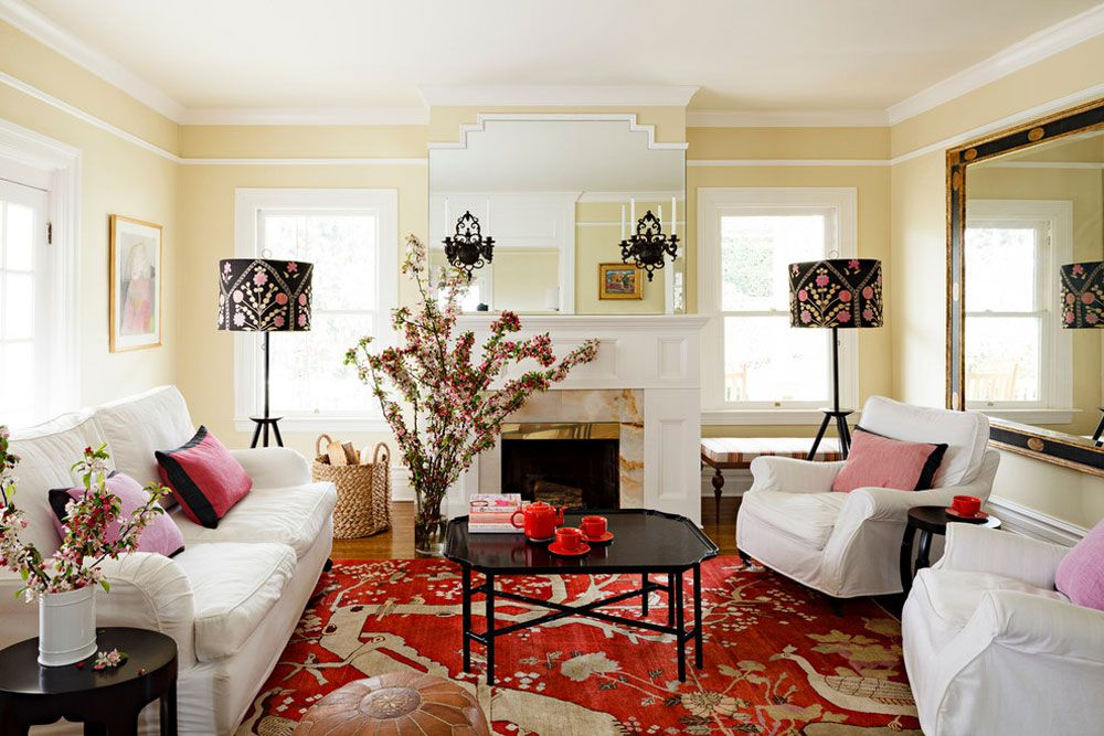 Meaning Of Red Color In Interior Design