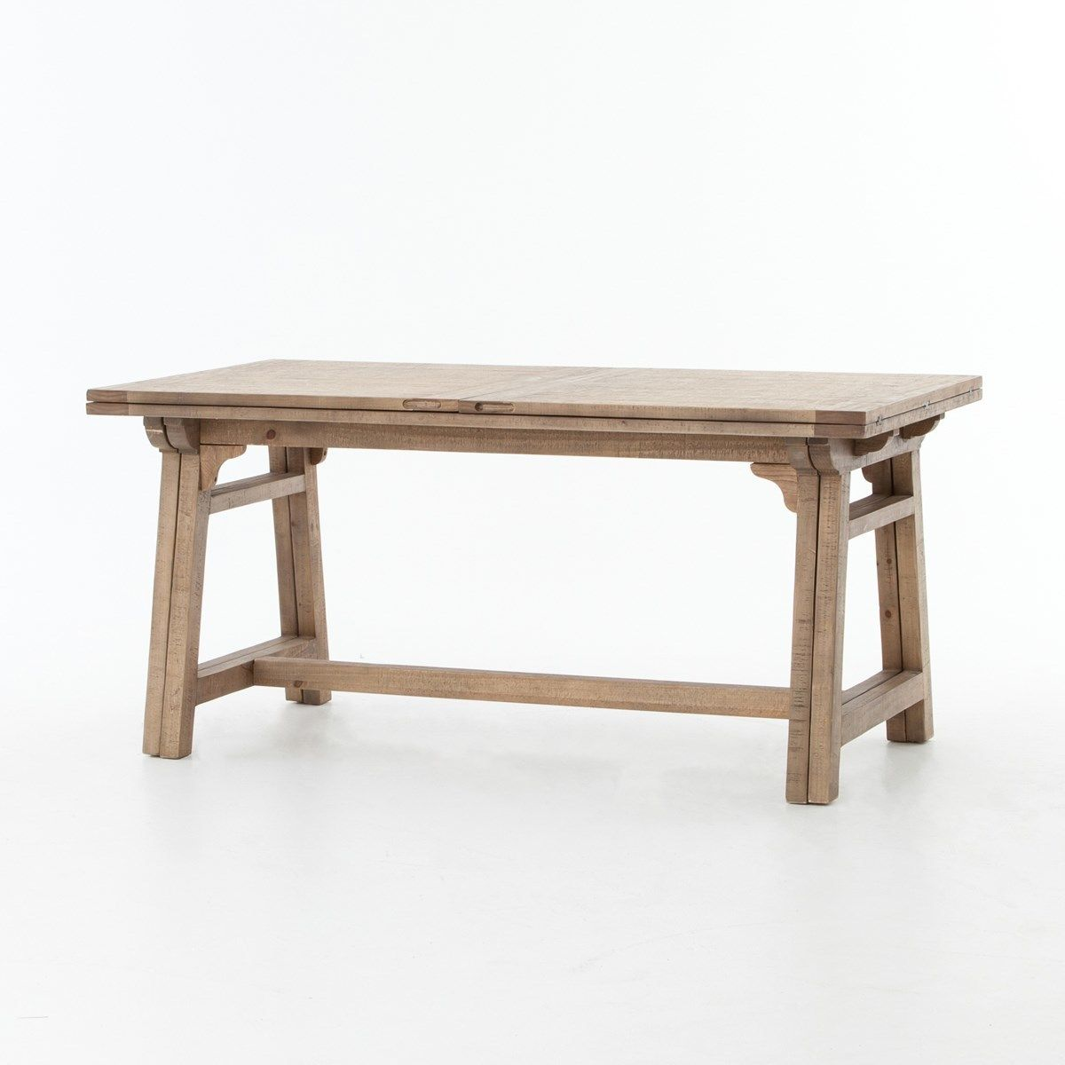 Spanish Reclaimed Wood Extension Dining Table Spanish