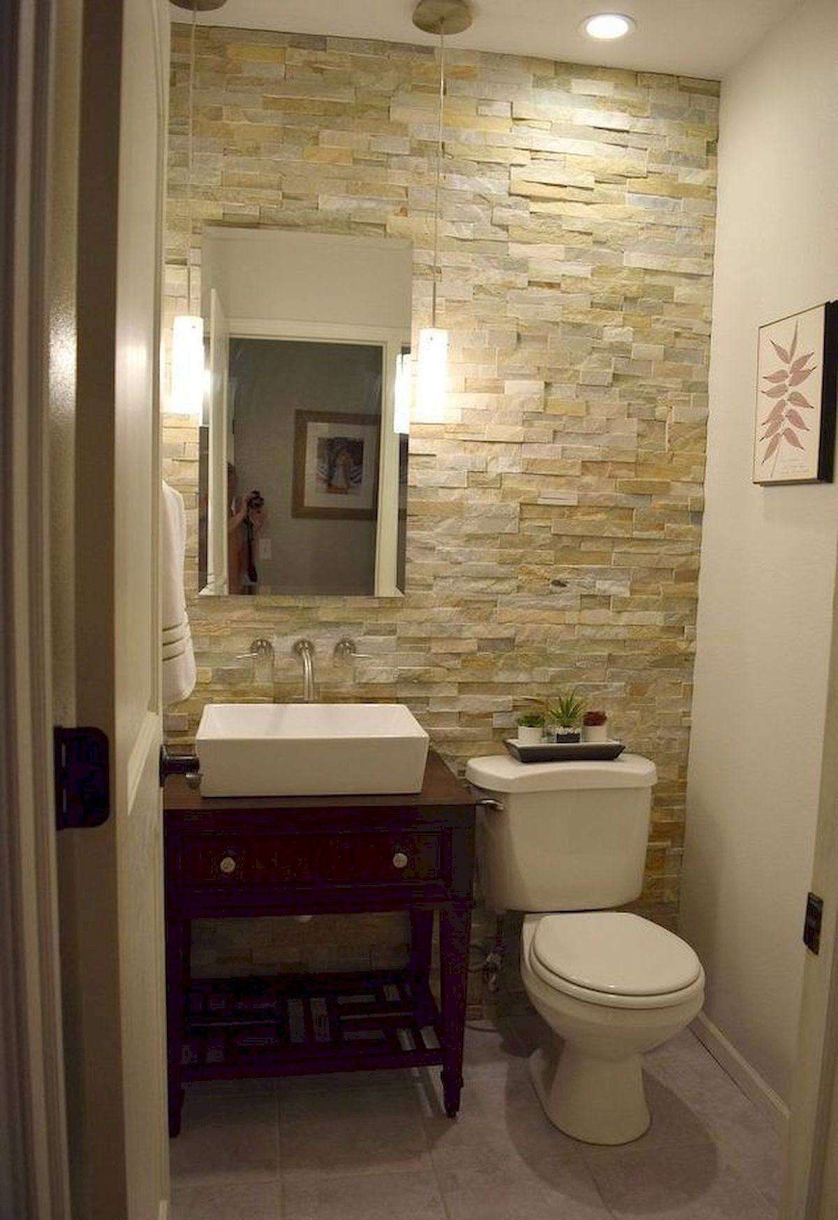 Best Bathroom Lighting Ideas Jihanshanum Small Half Bathrooms Small Bathroom Remodel Guest Bathroom Small