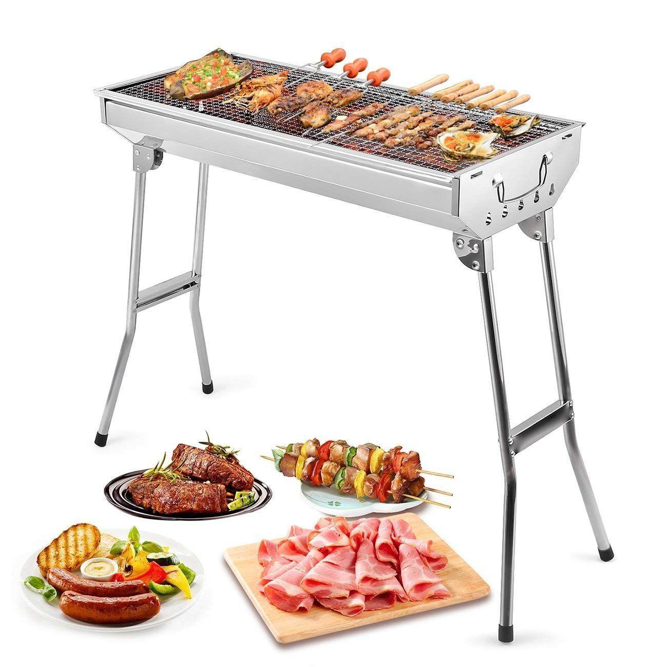 Barbecue Portable Uten Petit Barbecue à Charbon de Table
