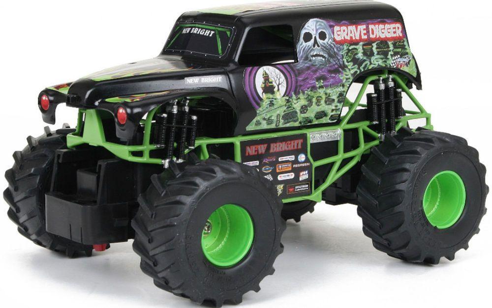 remote control vehicle monster jam grave digger truck outdoor toys rh pinterest com