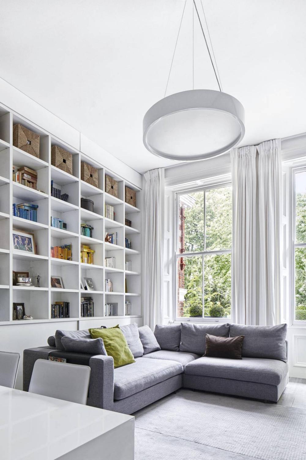 Clever joinery ideas  Bookshelves in living room, Living room