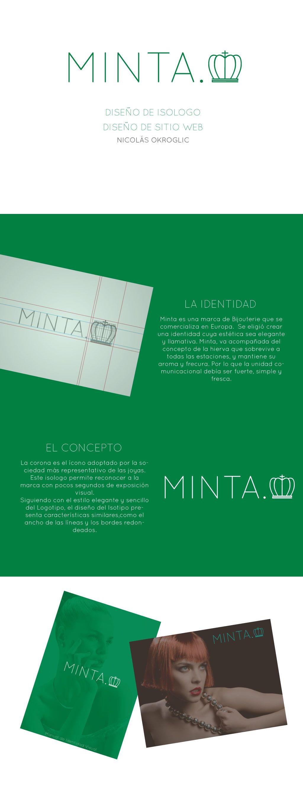 Diseño de isologo para Minta.