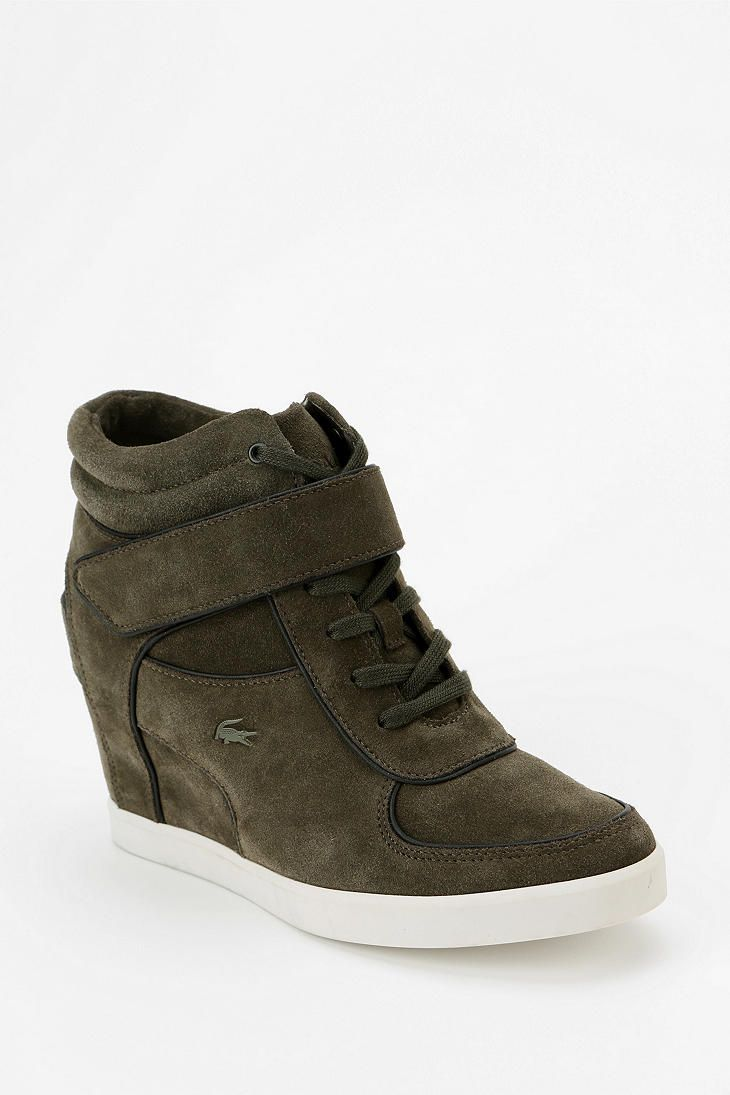 5ece1d2002e5 Lacoste Berdine Hidden Wedge High-Top Sneaker