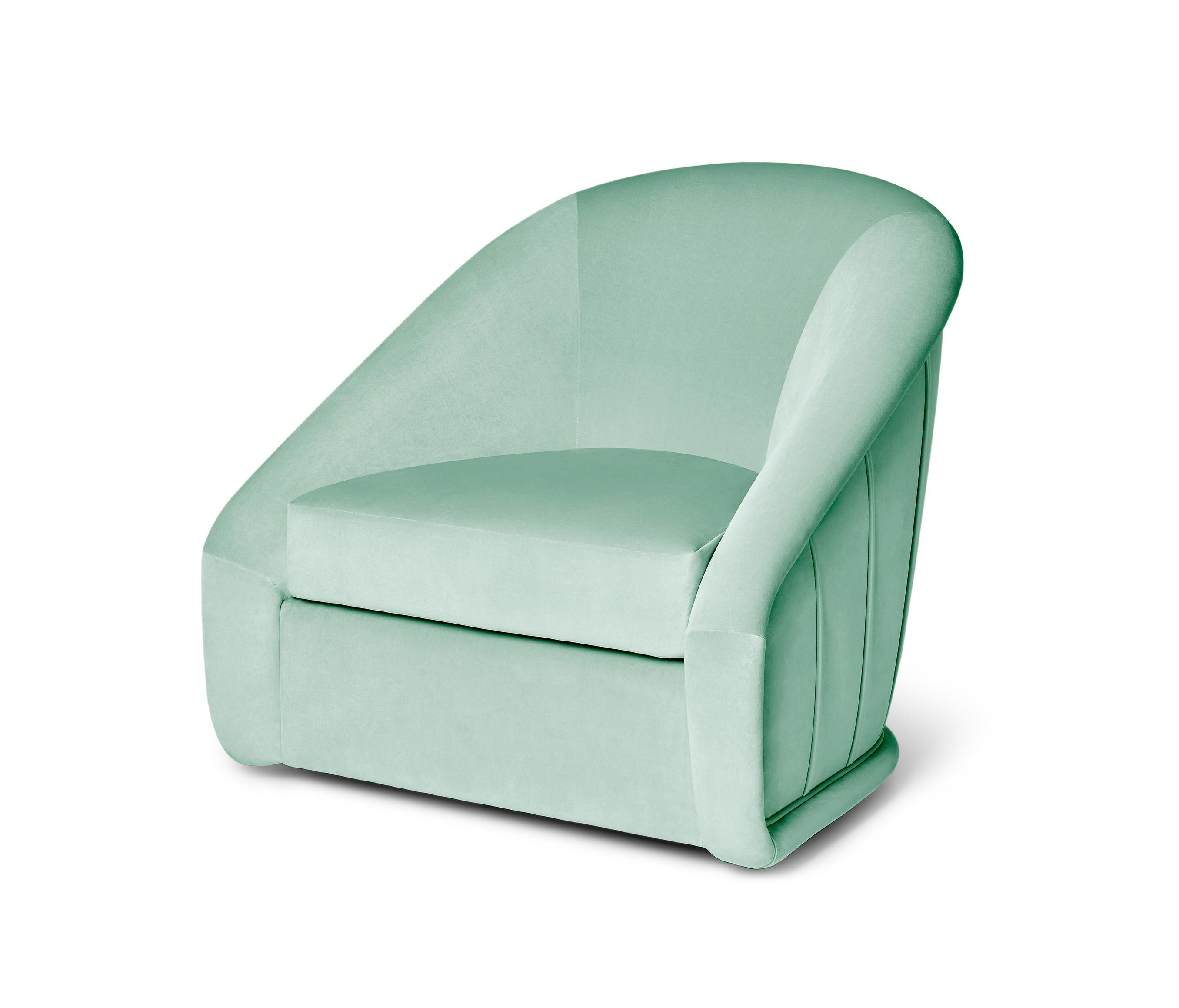 Queen b swivel armchair by ema antunes for munna architonic nowonarchitonic interior design furniture seating armchair chair green cotton
