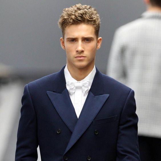 pelo rizado hombres hombre chicos cortes pelo corte