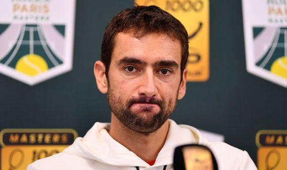 4c7536382e58 Paris Masters  Marin Cilic makes Roger Federer Rafael Nadal and Novak  Djokovic prediction