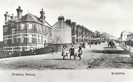 Preston Drove, Brighton, c1905 in 2020 Brighton sussex