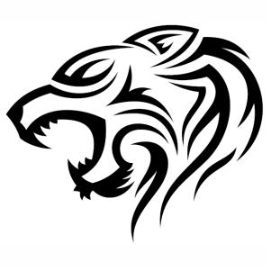 Tribal Tiger Tattoo Vector File Tribal Tiger Tribal Tiger Tattoo Tiger Tattoo
