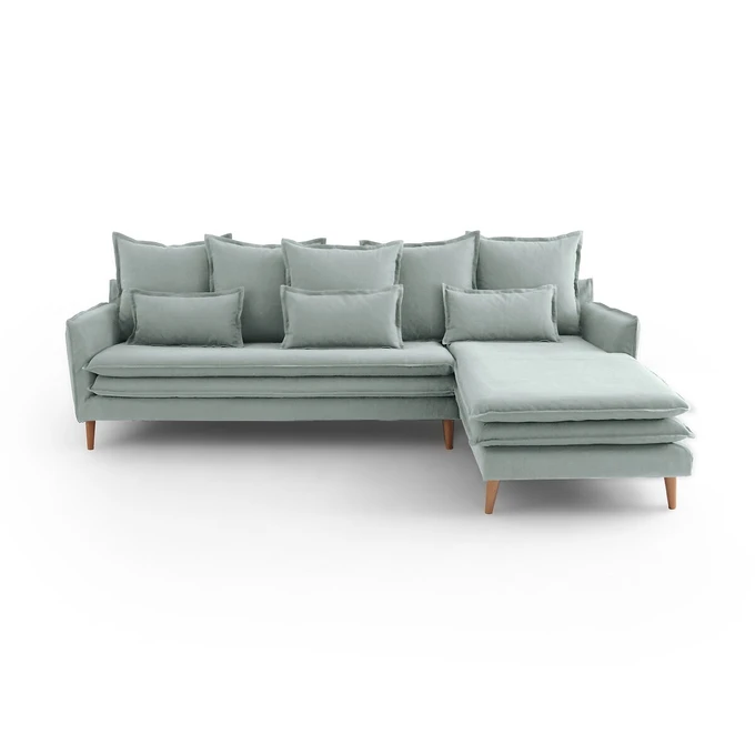 Canape Angle Fixe Coton Et Lin Oceano In 2020 Interior Home Decor Couch