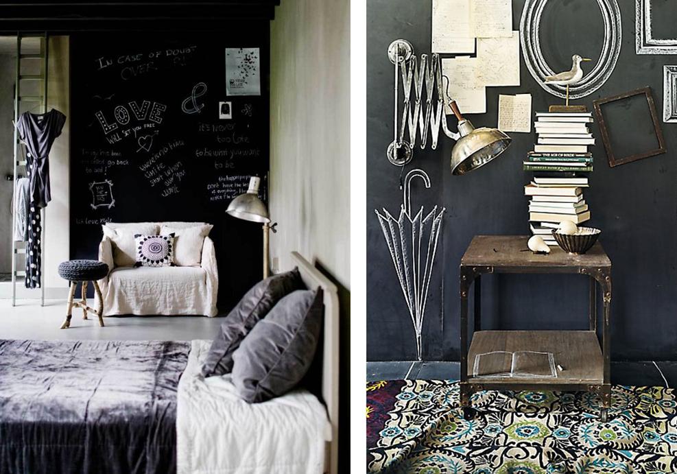 Best Chambre Mur Noir Paillete Photos - Matkin.info - matkin.info