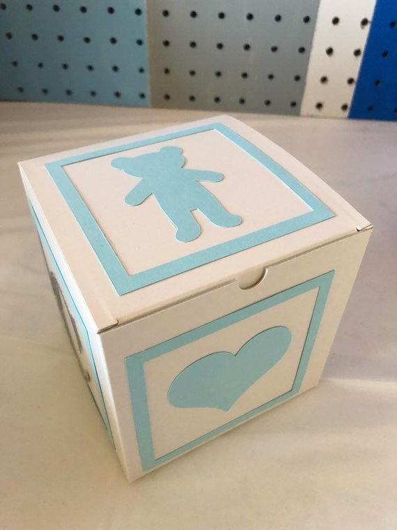 alphabet block baby shower decoration assembly required products rh pinterest com