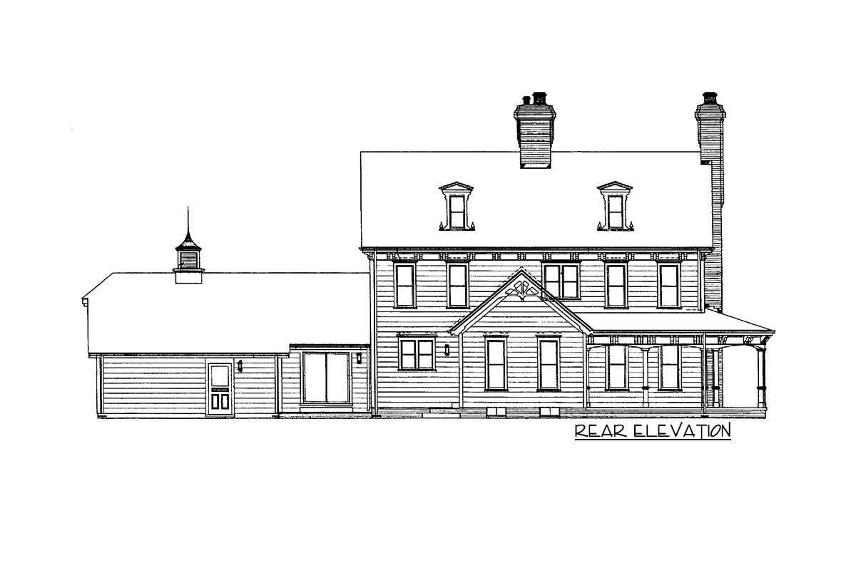 Plan 81027w Gothic Victorian Style House Plan House Plans Victorian Gothic Architectural Design House Plans