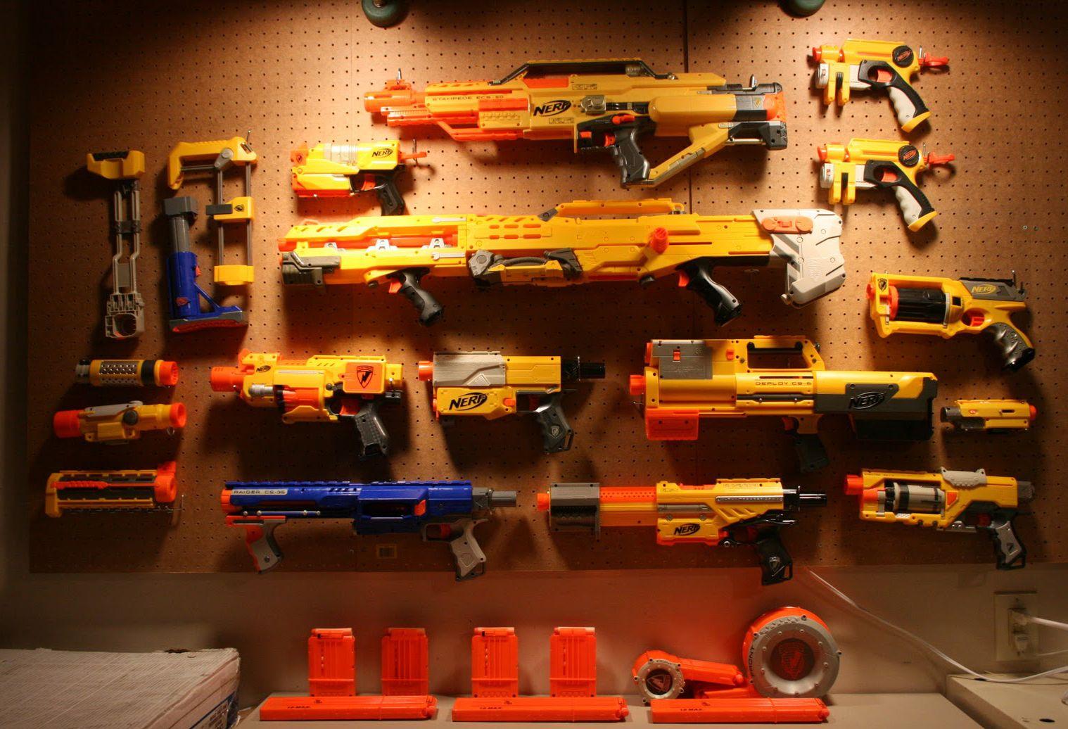 Nerf Gun Set