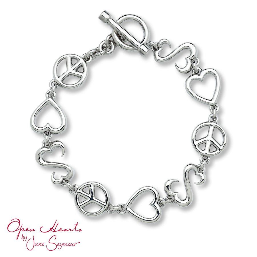 Open Hearts Bracelet 7 5