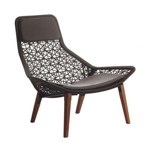 maia teak relax chair chairs outdoor kettal modern furniture rh pinterest com