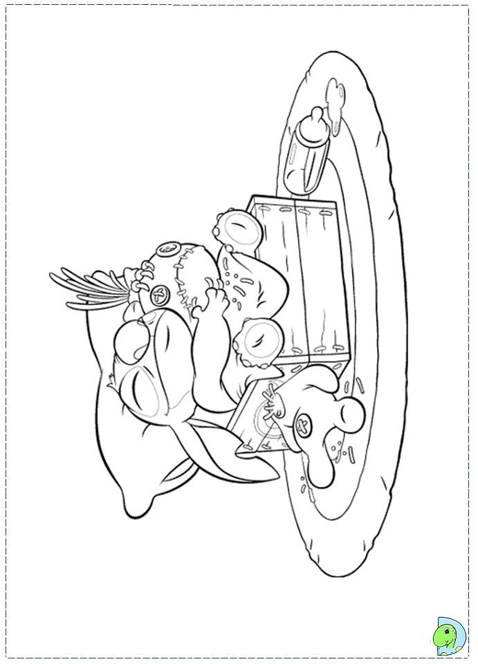 coloriage lilo et stitch | coloriages & co | Pinterest | Mandalas