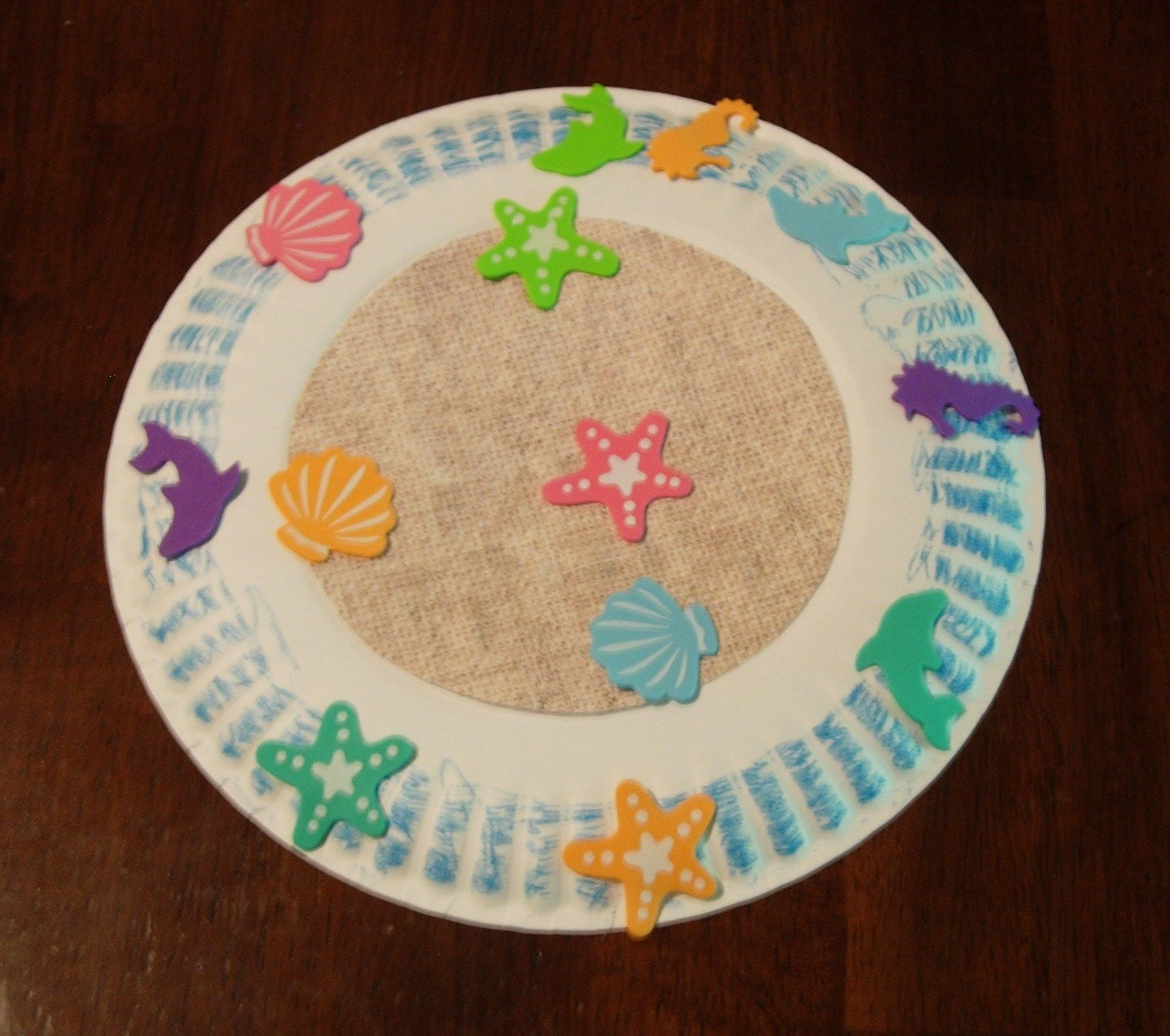 Beach Preschool Crafts