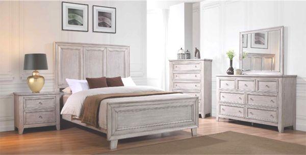 Best Valerie 4 Piece Antique Grey Queen Bedroom Set In All 400 x 300