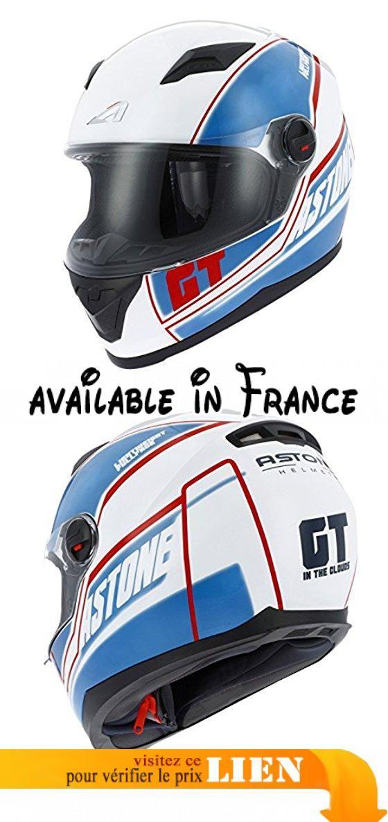 Astone Helmets Gt2g Cloud Blm Casque Moto Intégral Gt Bleu Taille