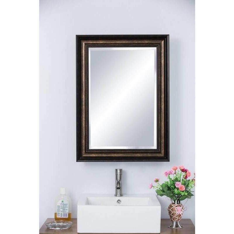 Photo of Bellaterra Home Mirrored Medicine Cabinet