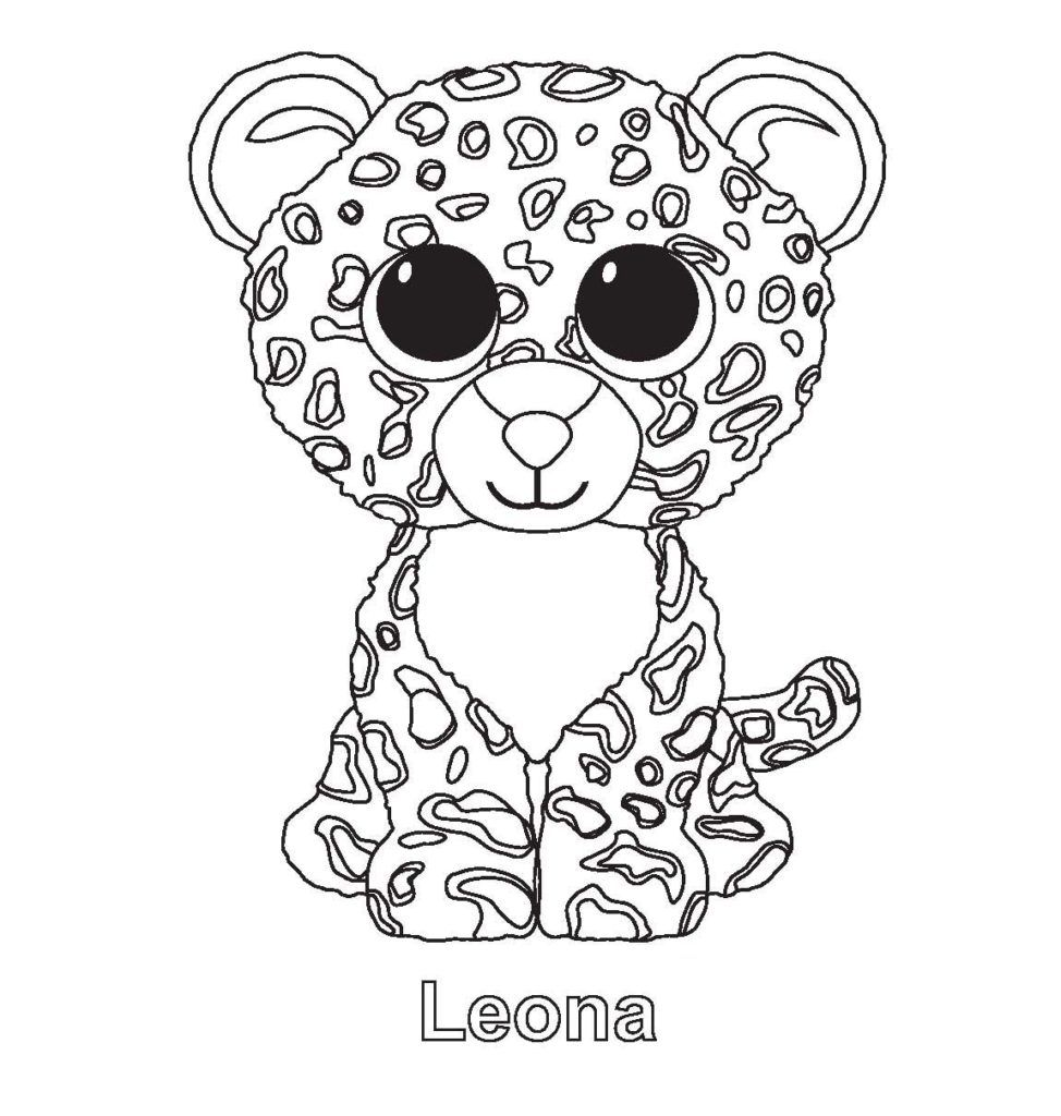 Beanie Boo Coloring Pages Penguin Coloring Pages Beanie Boo Birthdays Beanie Boo Party
