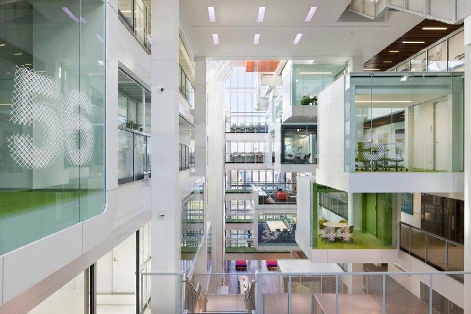 Modern One Shelley Street Office Interior Design