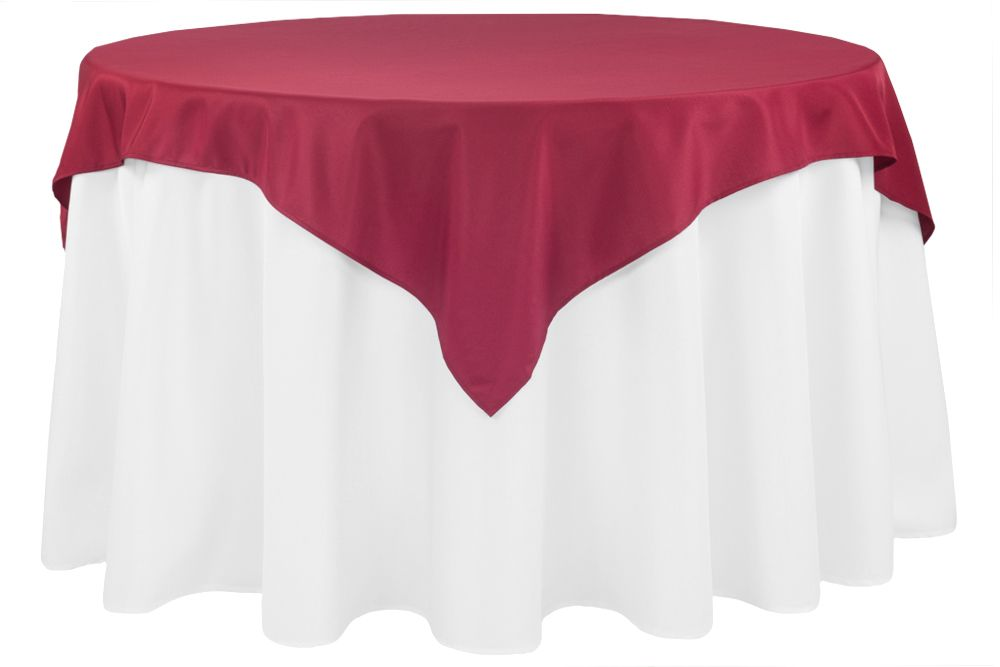 economy polyester table overlay topper tablecloth 54 x54 square rh pinterest com
