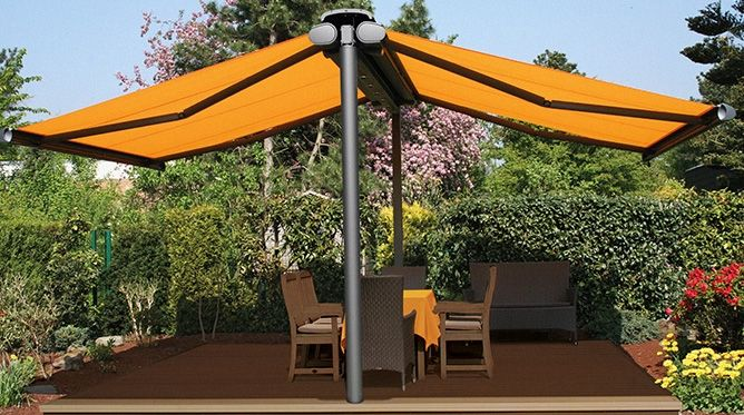 Freestanding Patio Awnings Patio Backyard Shade Pergola
