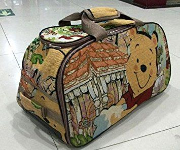 Amazon.com   Disney Winnie the Pooh Travel Rolling Suitcase Luggage Bag  Trolley Roller Handbag 20