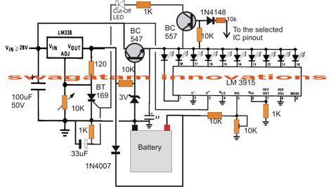 3v 4 5v 6v 9v 12v 24v automatic battery charger odd job rh pinterest co uk