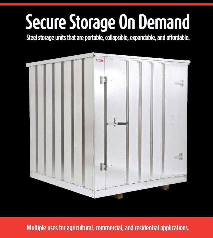 KWIK-STOR Portable Storage Containers. Steel Storage Units. Secure u0026 Affordable. #  sc 1 st  Pinterest & KWIK-STOR Portable Storage Containers. Steel Storage Units. Secure ...