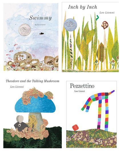 Inch by Inch, Pezzettino, Swimmy, Theodore & Talking Mushroom by Random House at Gilt