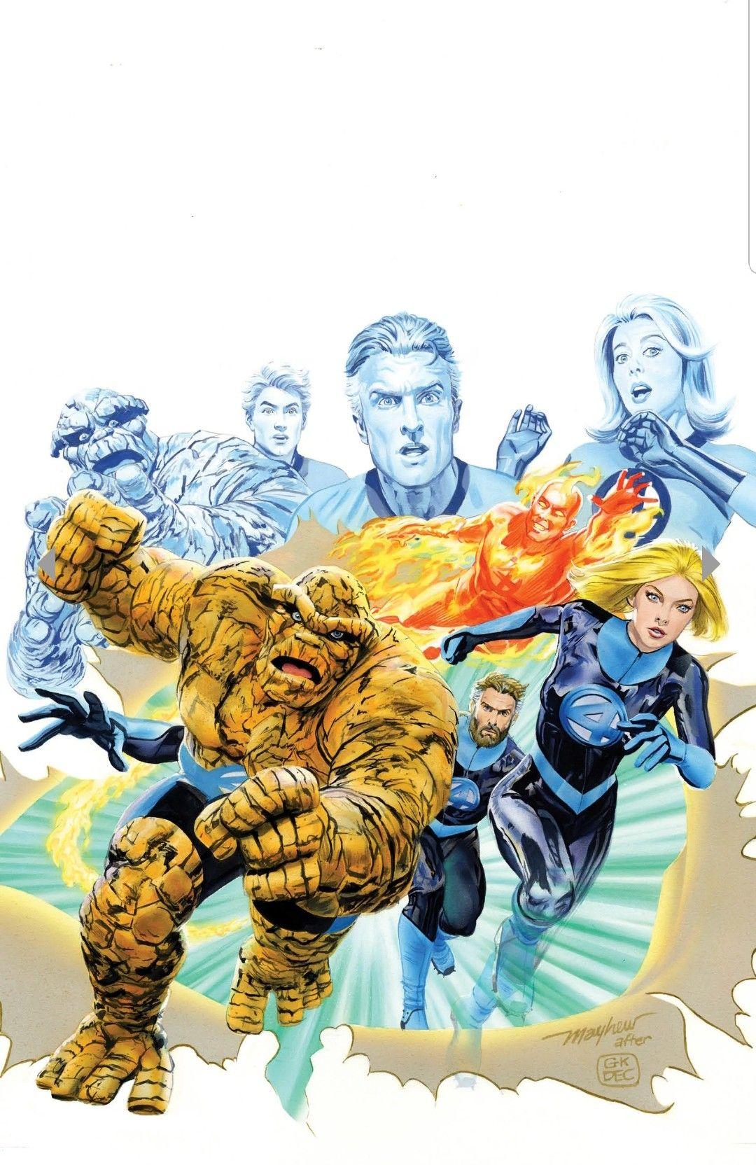 F4 Marvel Wiki Fantastic Four Comics Fantastic Four Marvel Comics Art